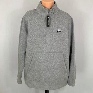 NEW Nike Men's Half Zip Sweatshirt Size XXL